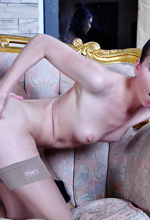 Playful lezzie makes passes at her girlfriend to finger and drill her ass